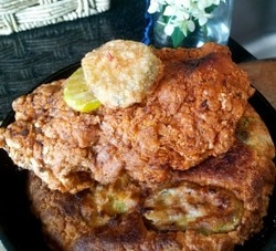 Hot Chicken Biscuit
